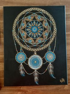 Dream Catcher Mandala