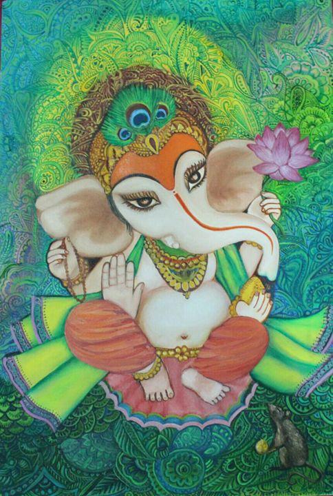 ganesh - poonam singh bhadoria