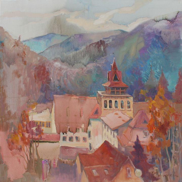 Castle between mountains - Anastasiia Grygorieva
