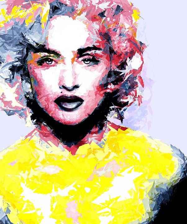 Abstract Madonna - Brian Raggatt