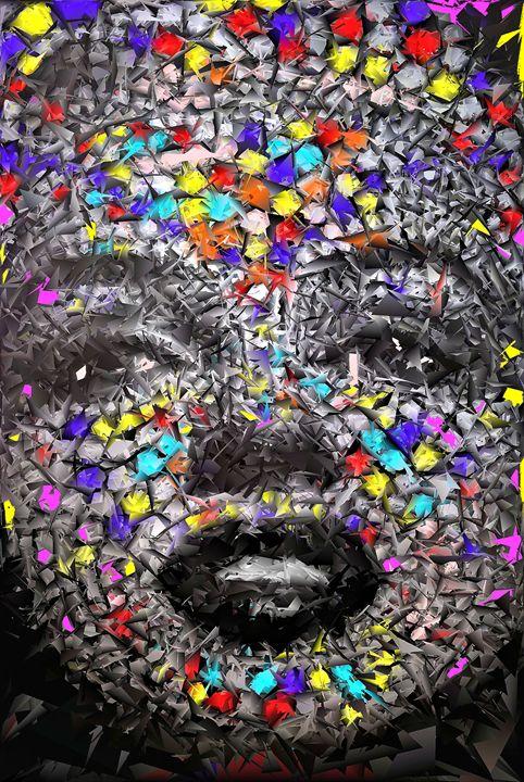 Marilyn Mosaic - Brian Raggatt