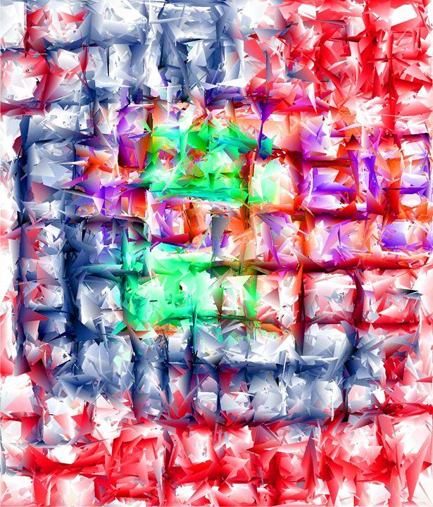 Maze Colours - Brian Raggatt