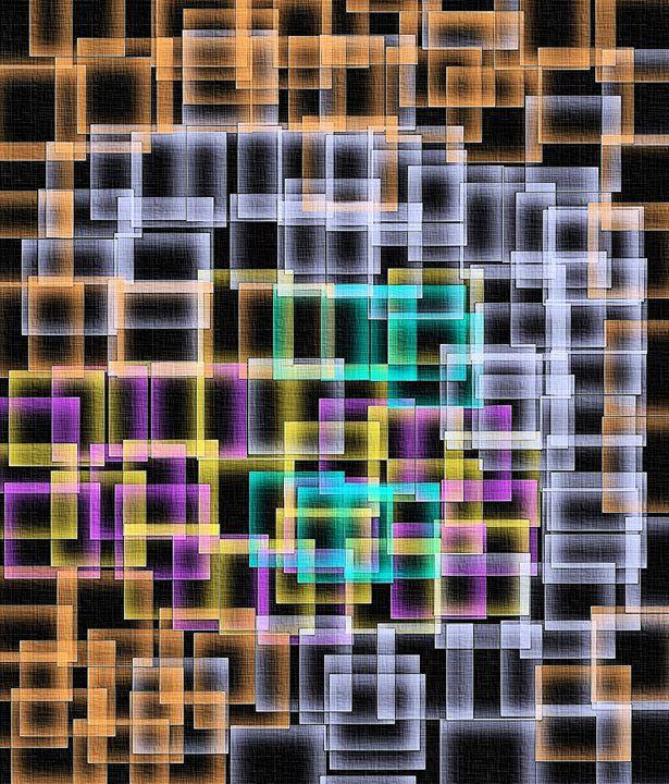 Colour maze - Brian Raggatt