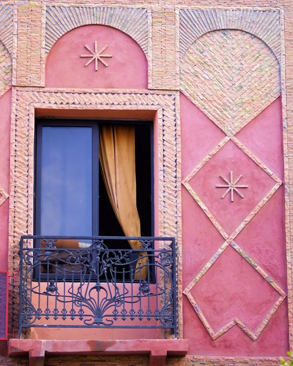 Marrakesh Balcony - Brian Raggatt