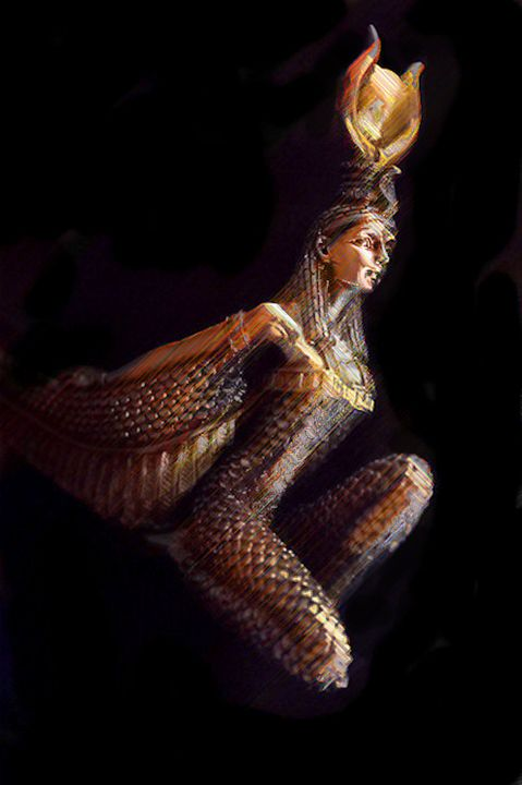 Goddess Isis - Brian Raggatt