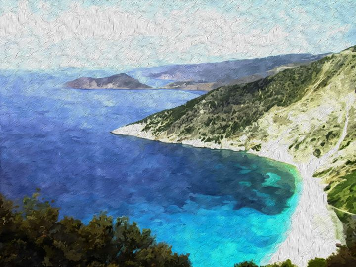 Greek Coastline - Brian Raggatt
