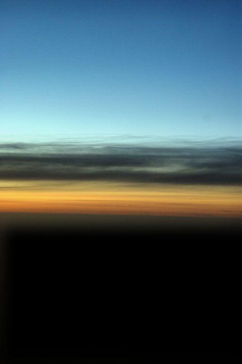 Abstract Night Sky - Brian Raggatt
