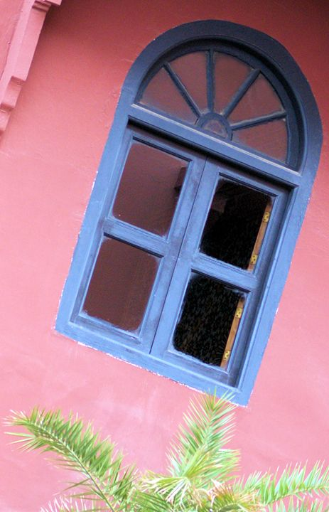 Blue Moroccan Window - Brian Raggatt