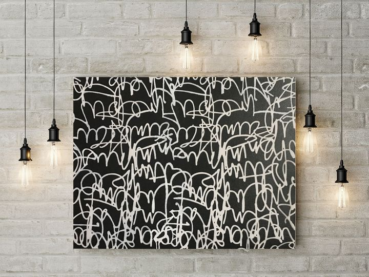 ABSTRACT---GRAFF - ARTY