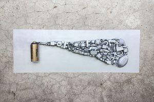 BOMBERZ 3D - big canva [Street-Art]