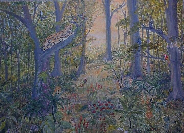 Rainforest - Artist Janet Davies