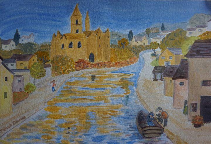 Walk By The Water - Artist Janet Davies
