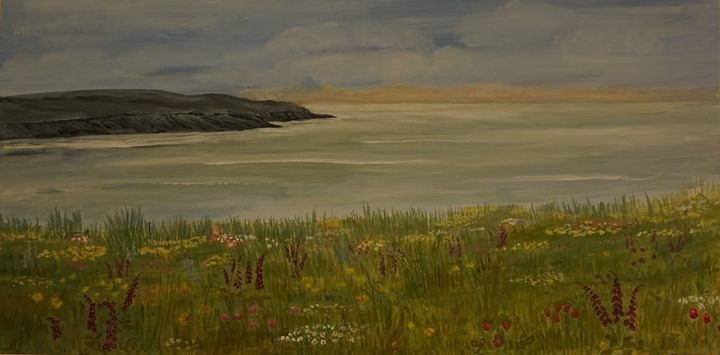 Summer On The Coast - Artist Janet Davies