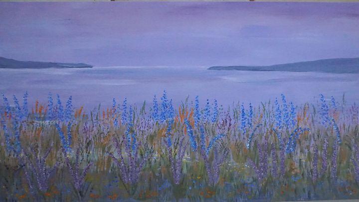 The Sea At Dawn - Artist Janet Davies
