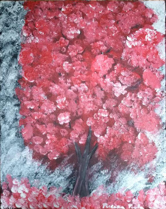 Arbre rouge; arbre de vie - Paola Pescara