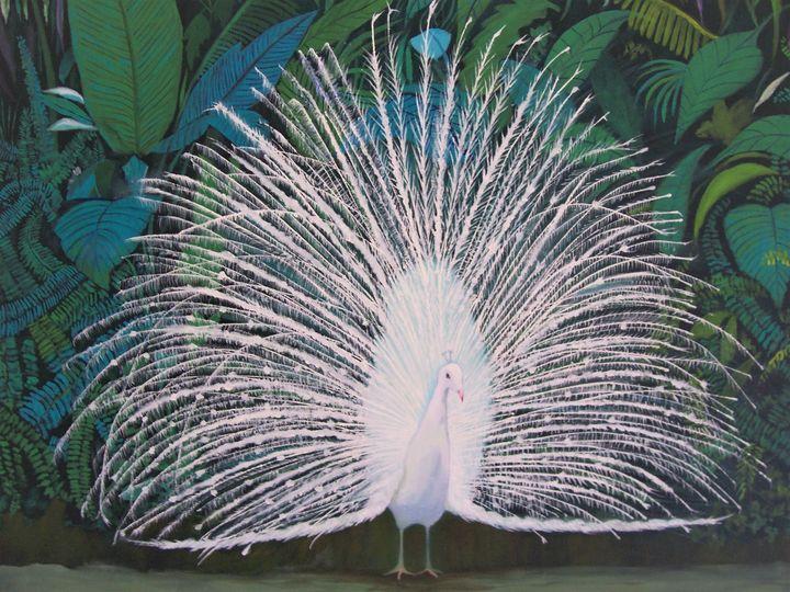 White Peacock - Richard Pascacio Gomez