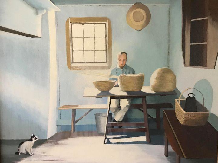 Amish Basket Weaver - Richard Pascacio Gomez