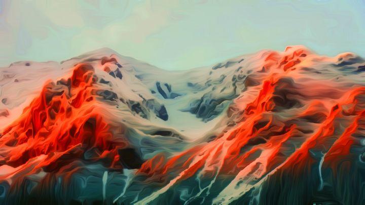 Mountain of Lava - Defendus