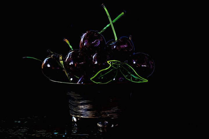 Neon Cherries - Defendus