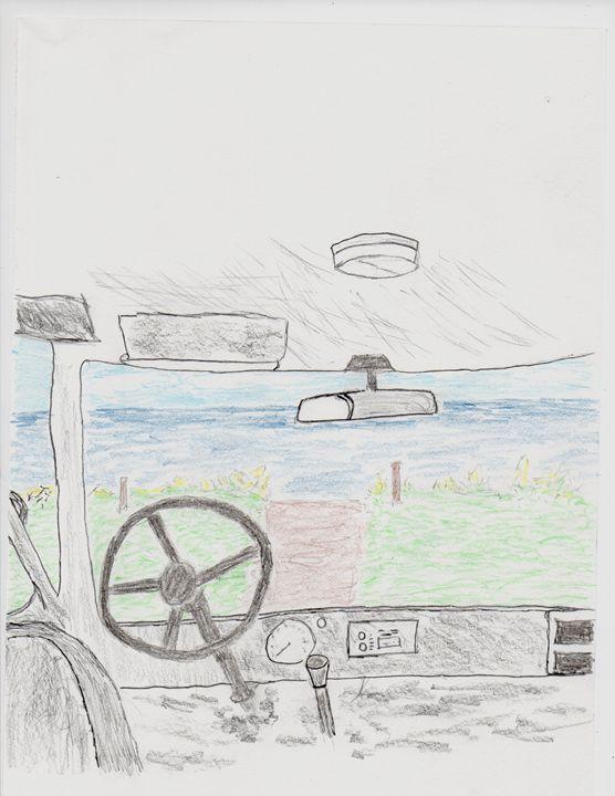 Ocean Through Windshield - DYDM