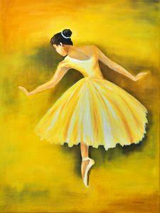 Yellow Ballerina