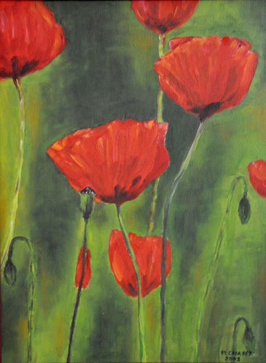 Poppies II - M. Capapey
