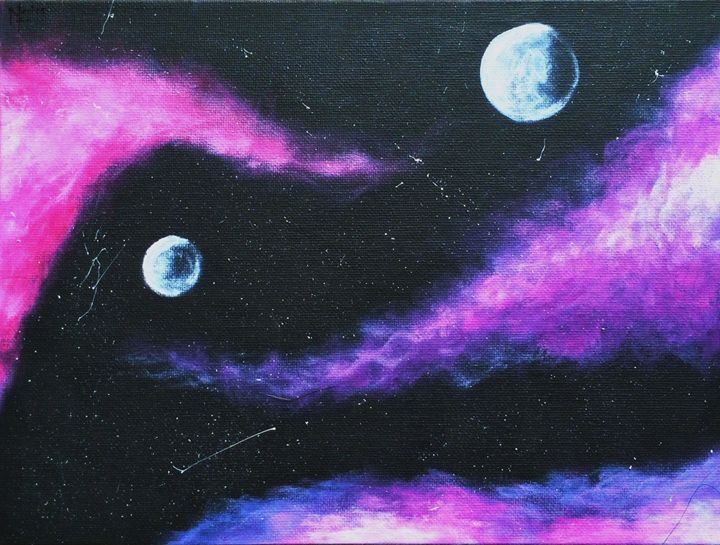 Cotton Candy Space Adventure - Michelle Rose