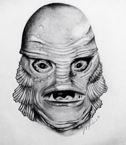Creature From the Black Lagoon - Michelle Rose