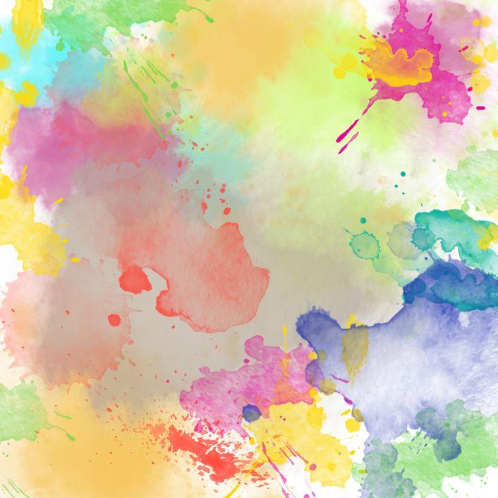 Abstract Watercolor - Gersoza