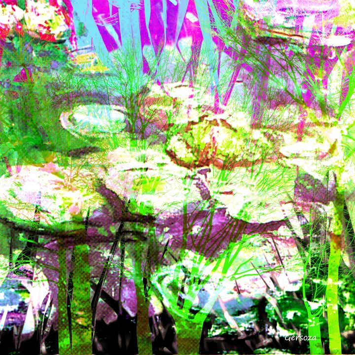 Digital Flowers - Gersoza