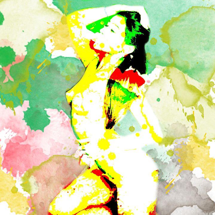 Watercolor Woman - Gersoza