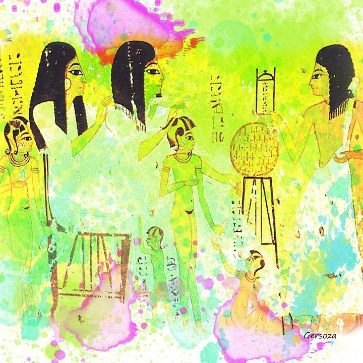 Egypt Old Design - Gersoza