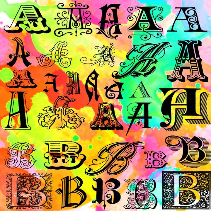 Letter Designs - Gersoza
