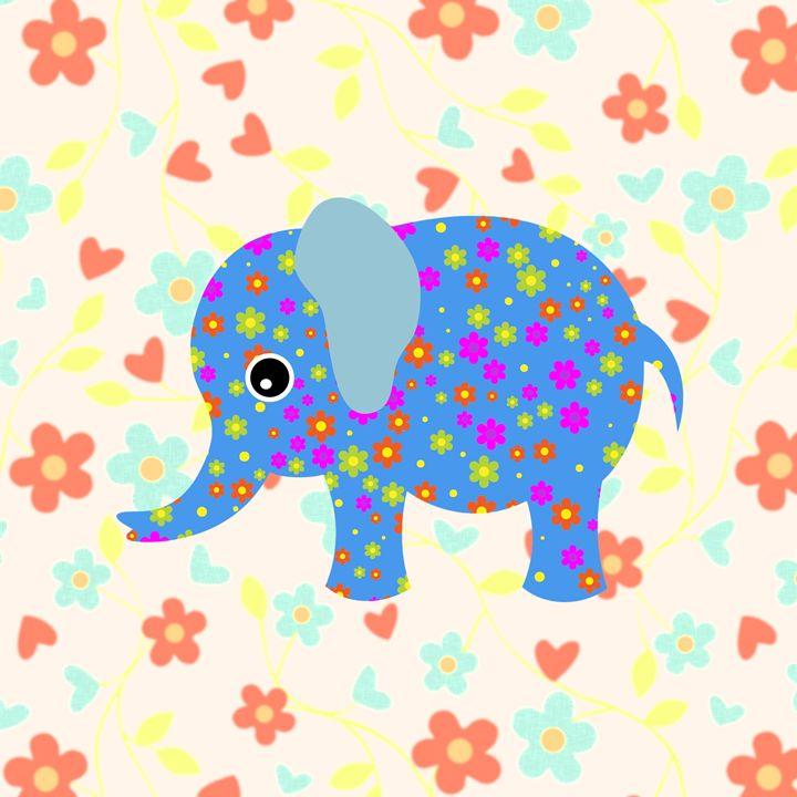 Digital Elephant - Gersoza