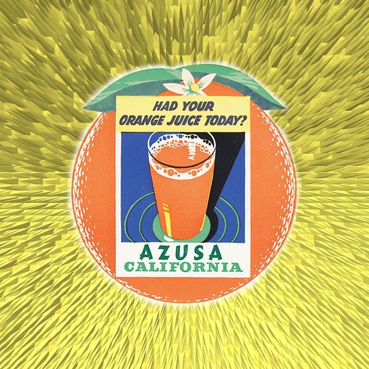 Digital Vintage Label - Gersoza