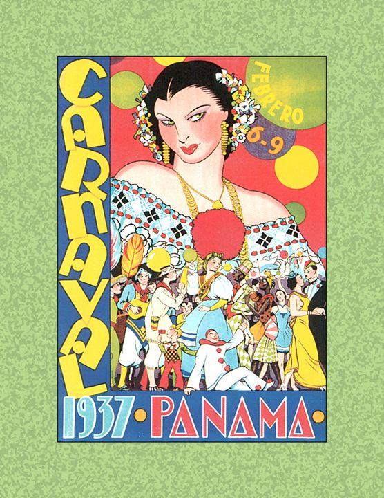 Digital Vintage Panama Label - Gersoza