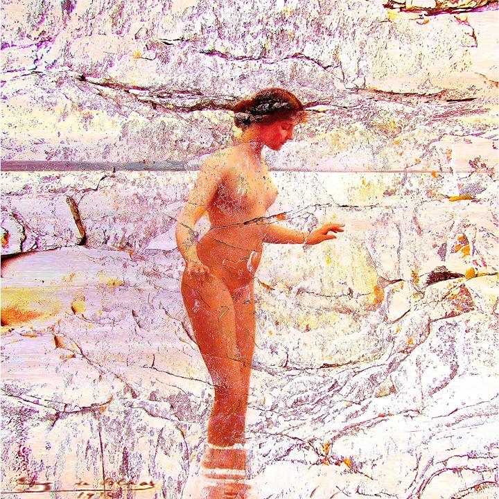 Digital Abstract Woman - Gersoza