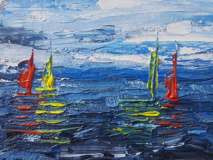 Sea freedom - Versace Francesco