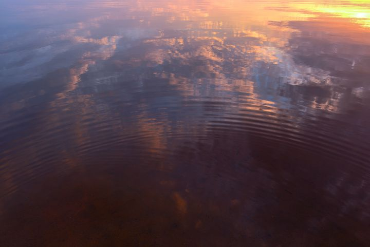 Mirror surface of the lake water - yarvin13