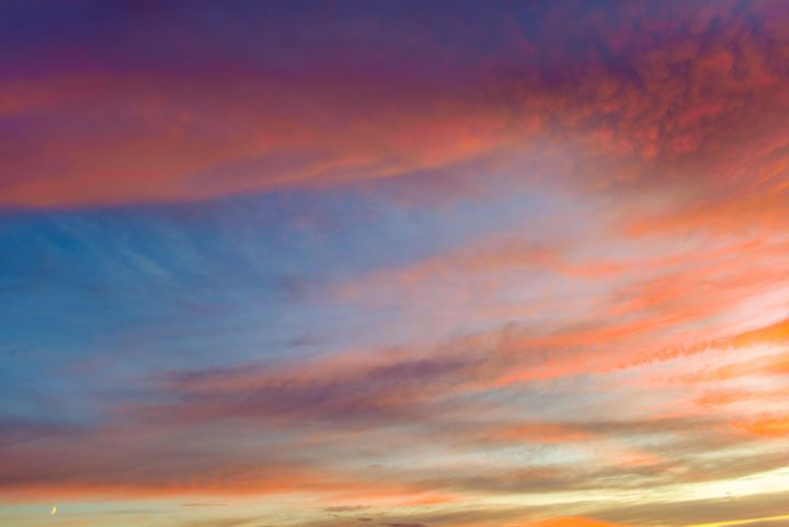 Sunset pattern of the atmosphere sky - yarvin13