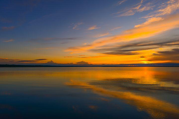 Twilight sky in the setting sun - yarvin13