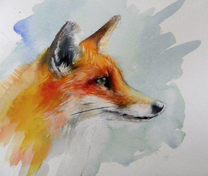 red fox - kate Bradley