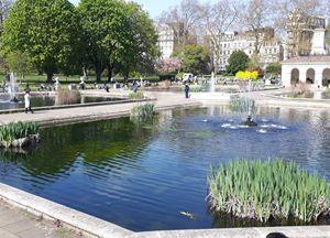 Hyde Park best garden