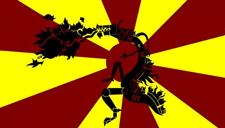 Tribal dragon - lalo133