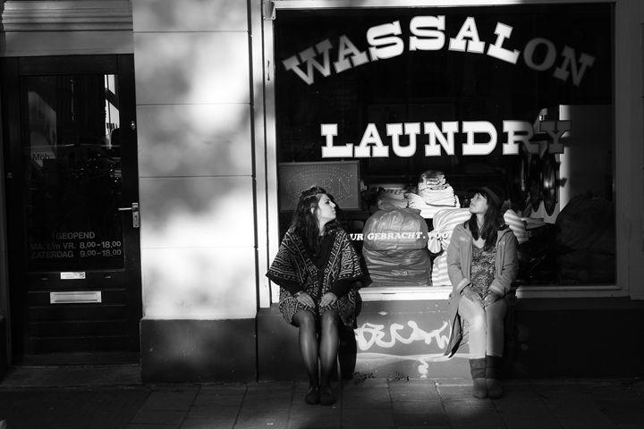 Waiting for Laundry - Richard Albert Broeksema