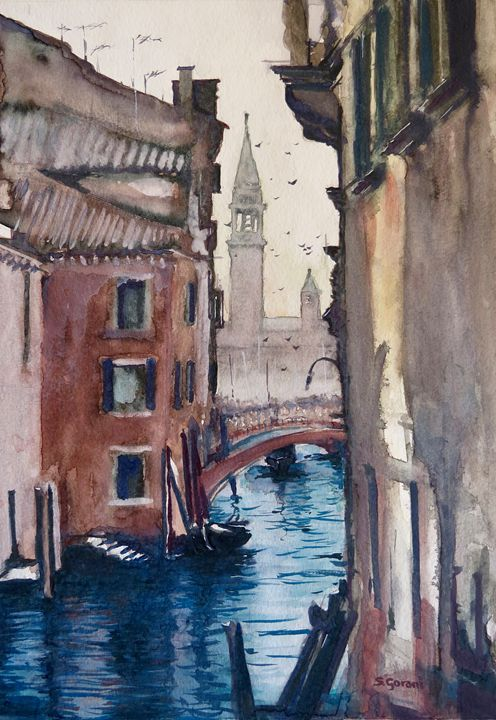 Morning In Venice - GeniArt