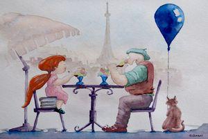 I love Paris Grandpa