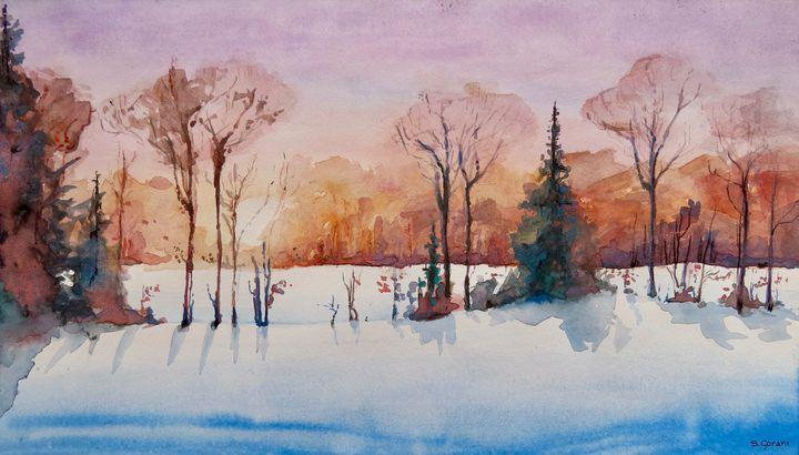 Winter Sunrise - GeniArt