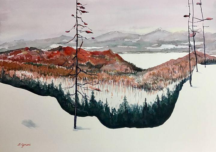 Frozen Lake - GeniArt