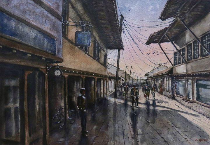 Old Bazaar - GeniArt